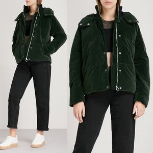 Whistles Velvet Iva Puffer Jacket